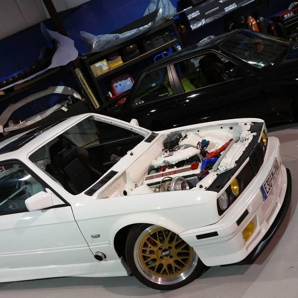 E30 Fully Build Turbo Drift Car For Sale 16000